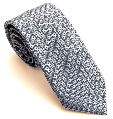 Christmas Blue Stars Tie by Van Buck