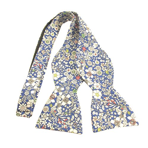 Junes Meadow Self Tie Bow Tie Made with Liberty Fabric