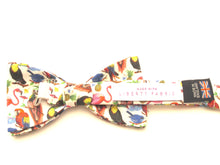 Liberty Print Birds of Paradise Bow Tie by Van Buck