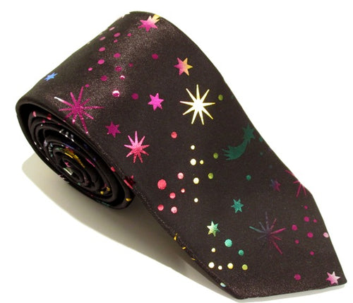 Shiny Star Tie by Van Buck