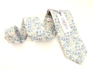 Mitsi Valeria Cotton Tie Made with Liberty Fabric