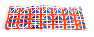 Face Mask Pleated Union Jack Flag Print
