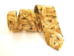 Packed Cork Cotton Tie by Van Buck
