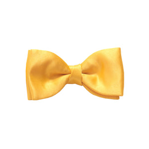 Van Buck Satin Plain Sunflower Bow Tie