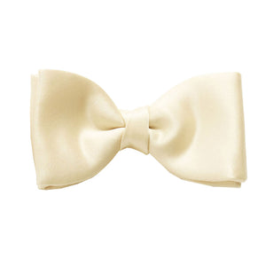 Champagne Satin Bow Tie by Van Buck