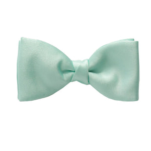 Van Buck Satin Plain Mint Bow Tie