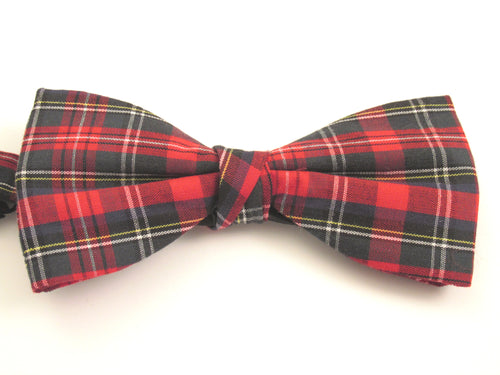 Ancient Stewart Tartan Pre-Tied Bow by Van Buck