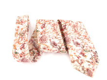 Wild Flower Pink Cotton Tie Made with Liberty Fabric