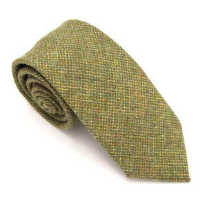 Green Woodland Wool Tie by Van Buck