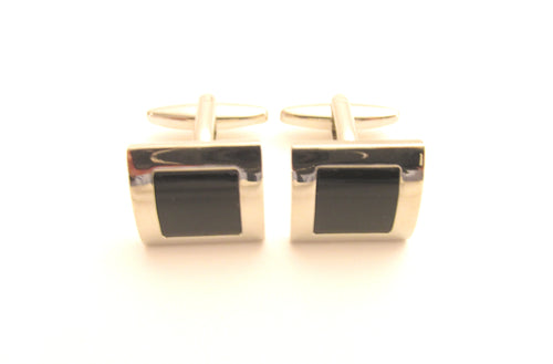 Black Cats Eye Novelty Cufflinks by Van Buck