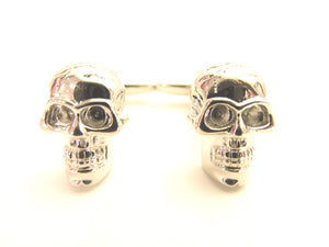 Skull Head Novelty Cufflinks by Van Buck