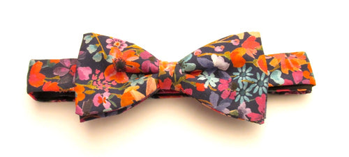 Dreams of Summer Bow Tie Made with Liberty Fabric