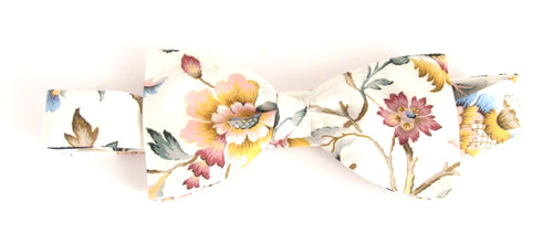 Eva Belle Bow Tie Made with Liberty Fabric