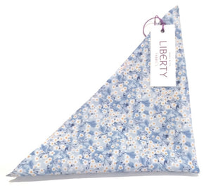 Mitsi Valeria Cotton Pocket Square Made with Liberty Fabric