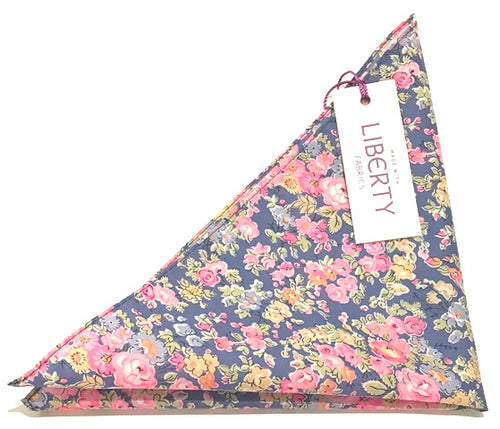 Tatum Cotton Pocket Square Made with Liberty Fabric