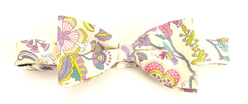 Mabelle Bow Tie Made with Liberty Fabric