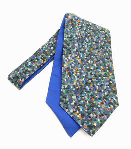 Pointillism Cotton Cravat Made with Liberty Fabric