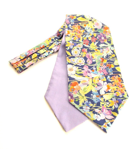 Proposal Cotton Cravat Made with Liberty Fabric