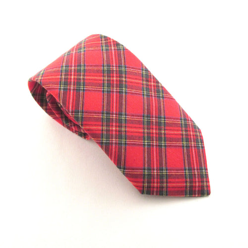 Royal Stewart Tartan Tie by Van Buck