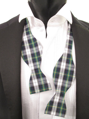 Dress Gordon Tartan Self-Tied Bow by Van Buck