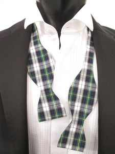 Dress Gordon Tartan Self-Tie Bow Tie by Van Buck