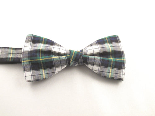 Dress Gordon Tartan Pre-Tied Bow by Van Buck