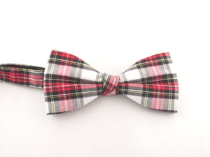 Dress Stewart Tartan Pre-Tied Bow by Van Buck