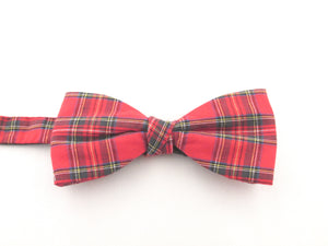 Royal Stewart Tartan Pre-Tied Bow by Van Buck