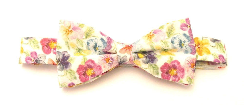 Think of Me Bow Tie Made with Liberty Fabric