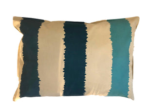 Cushion Blue Lines