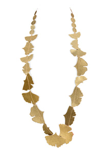 Ginkgo long Necklace