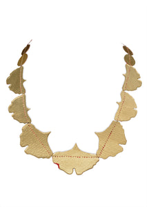 Ginkgo Short Necklace