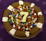 Personalised Totally Stuffed Chocolate Pizza