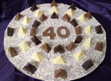 Personalised birthday Chocolate Pizza