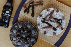 Dark Chocolate Pizza, chocolate gifts for men