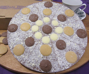 Hello Caramello Chocolate Pizza by The Chocolate Pizza Company.co.uk