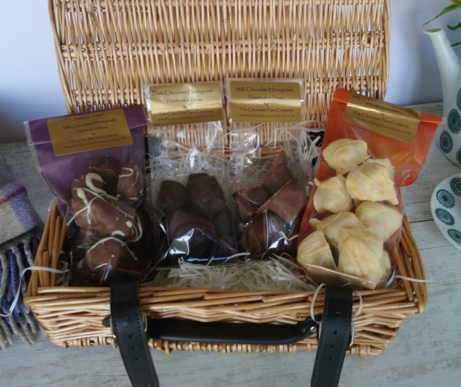 Chocolate Honeycomb Hamper made by The Chocolate Pizza Company