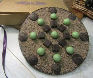 Mint to be Chocolate Pizza
