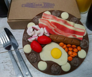 Breakfast Chocolate Pizza by The Chocolate Pizza Company