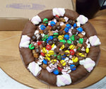 Totally Stuffed Chocolate Pizza made by The Chocolate Pizza Company