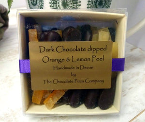 Dark Chocolate dipped Orange & lemon Peel