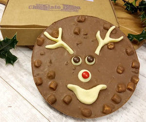 Reindeer Chocolate Pizza