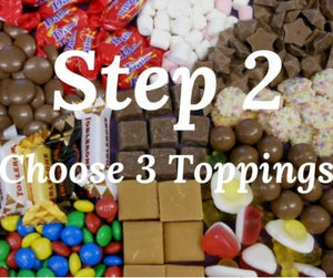 Create your own Chocolate Pizza Toppings by the chocolate pizza Company
