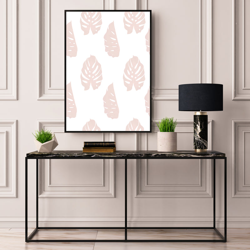 Blush Monstera Palms