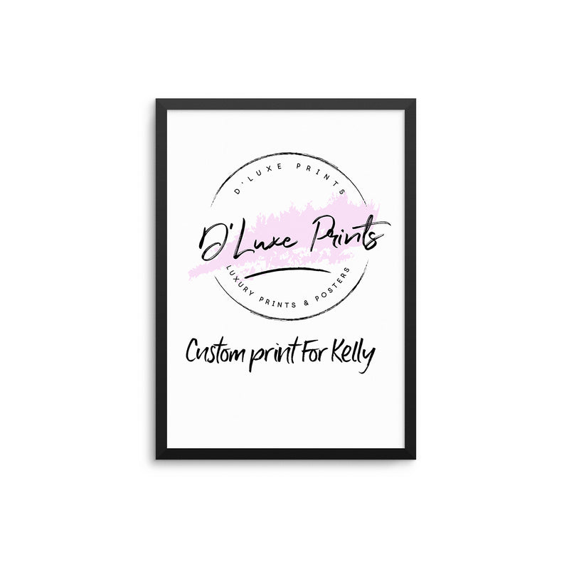 Custom Print - Kelly