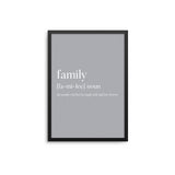 Family Noun Grey