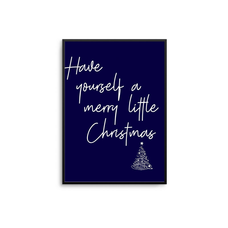 Have Yourself A Merry Little Christmas | Navy