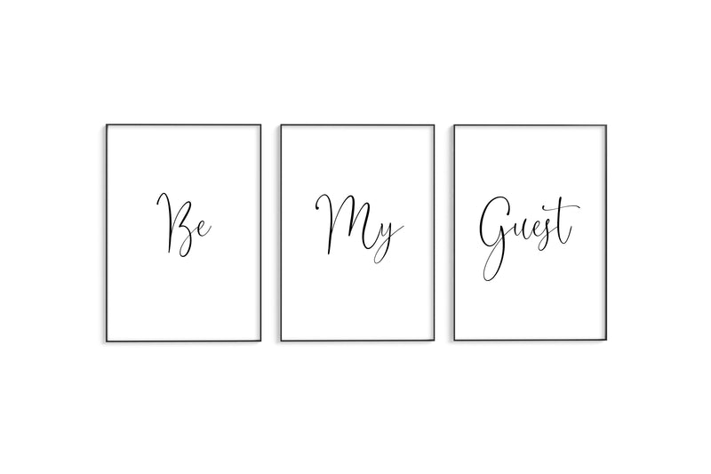 Be My Guest Trio Set