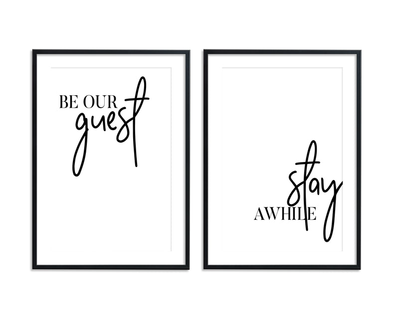 Be Our Guest | Stay Awhile Set