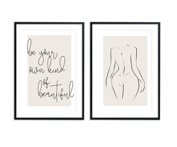 Be Your Own Kind Of Beautiful | Naked Set